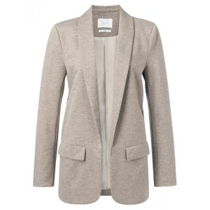Yaya Stretch blazer With Fishbone Pattern